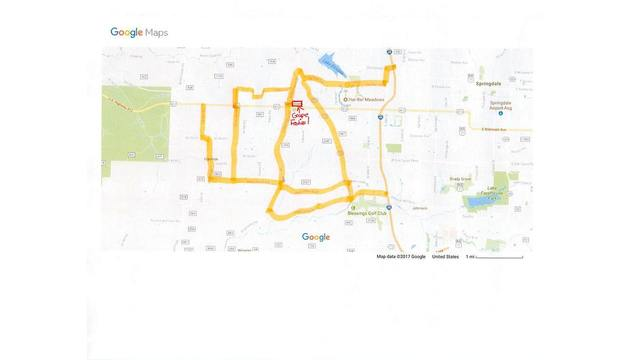 Tontitown Arkansas Map.Tontitown Pd Gives Free Parking Directions For Grape Fest