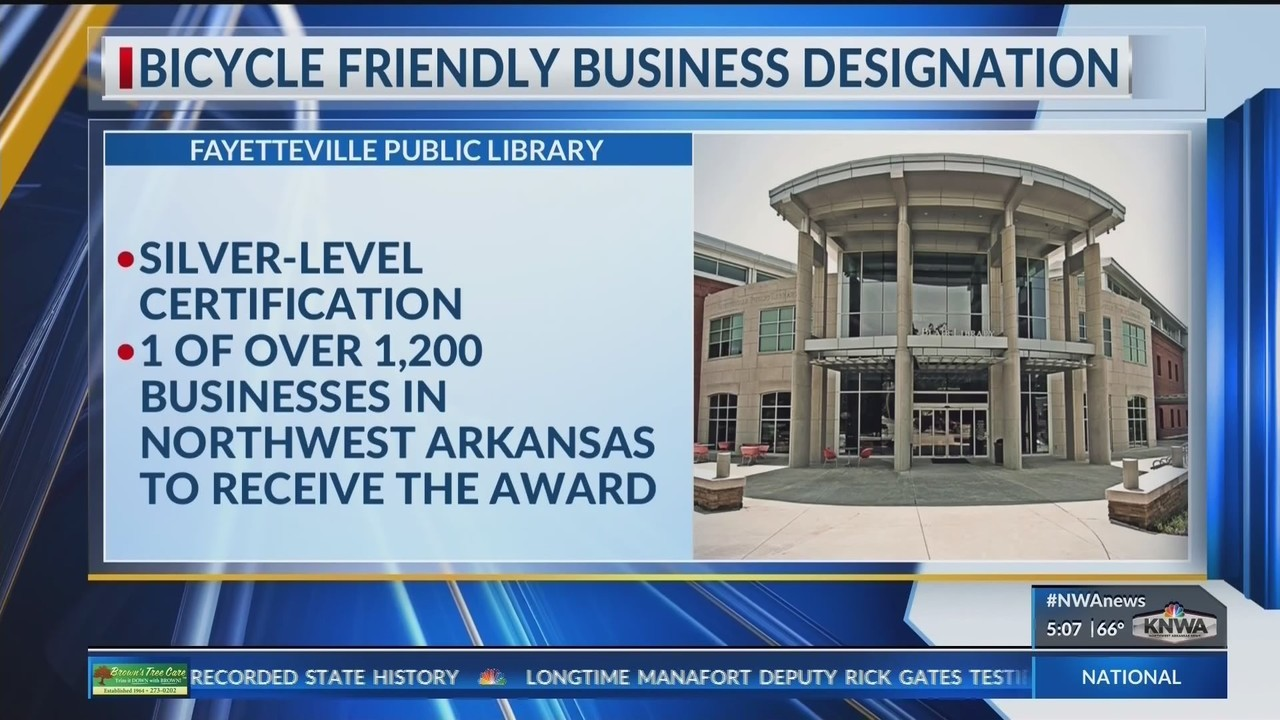 Fayetteville Public Library Earns National Certification