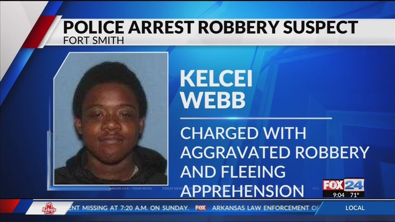 Fort Smith Police Arrest Robbery Suspect (Fox 24)