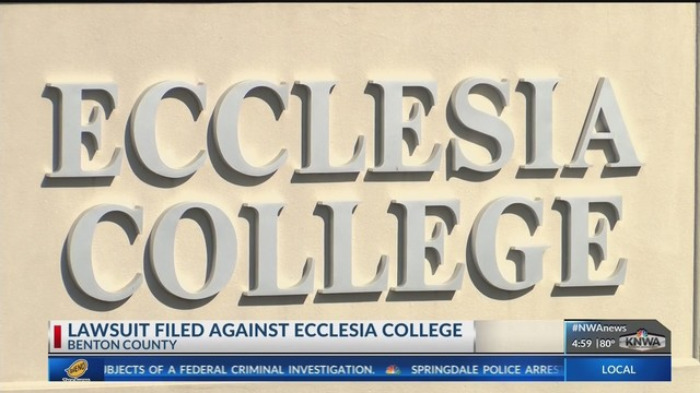 Lawsuit Filed Against Ecclesia College (KNWA)
