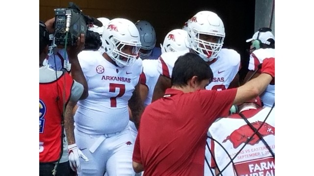 Five Tidbits From Arkansas 55 20 Victory Over Eastern Illinois