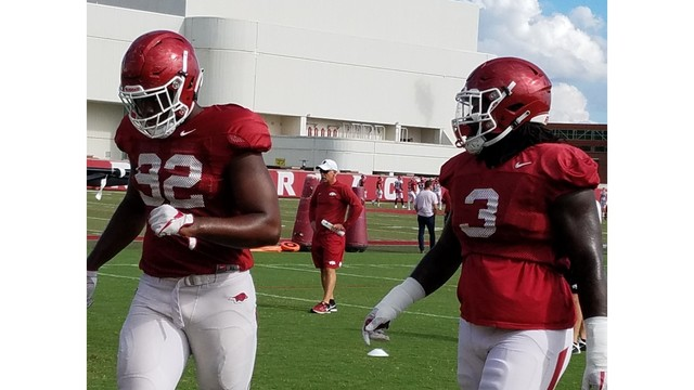 Arkansas' Tuesday Practice Notepad: Sosa Agim, La'Michael Pettway and much more