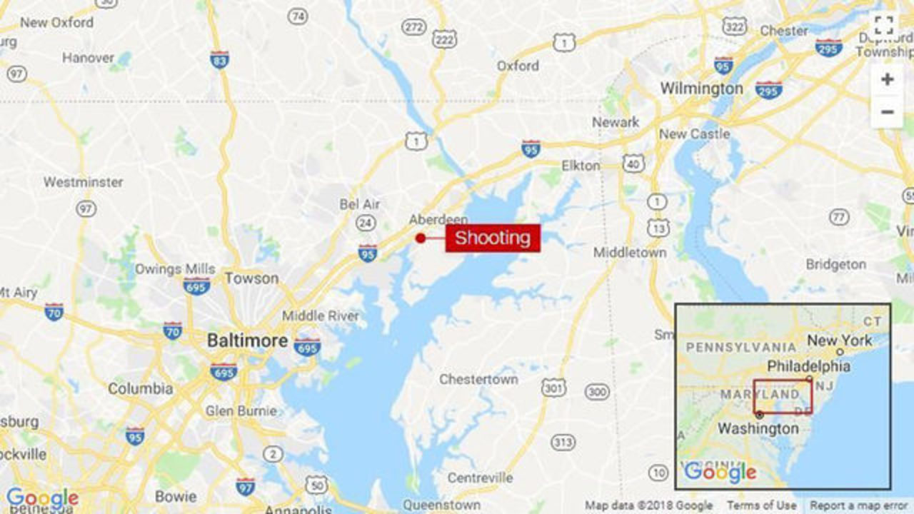 3 killed in shooting at Rite Aid distribution center in Md.