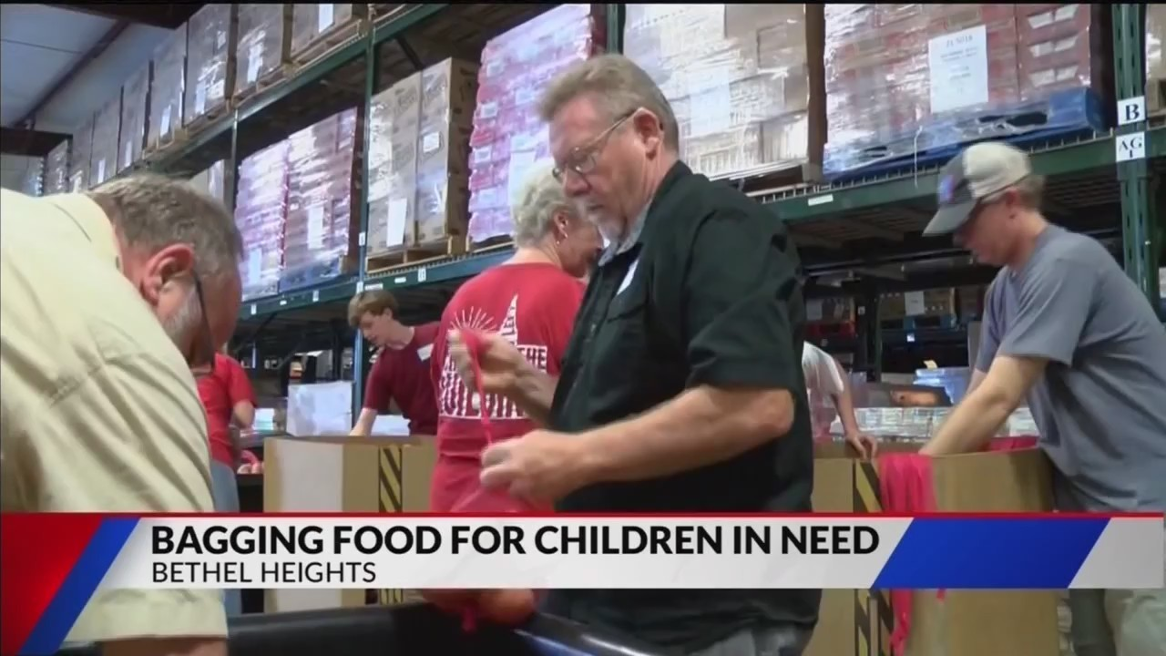 united methodist churches help nwa food bank