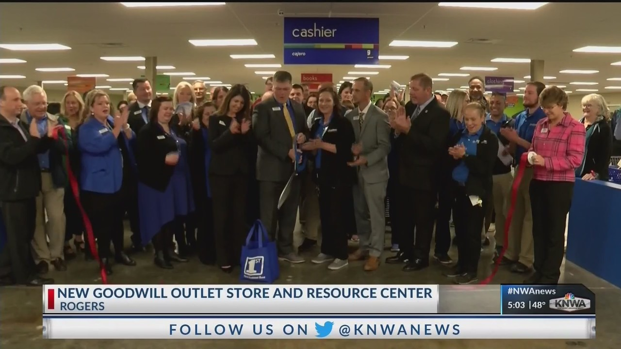 Goodwill Opens New Store Resource Center In Rogers