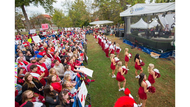 Arkansas to host SEC Nation for LSU Game