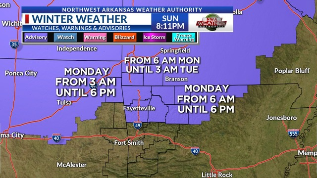 Weather Blog: Update on Snow Potential for Monday  Will