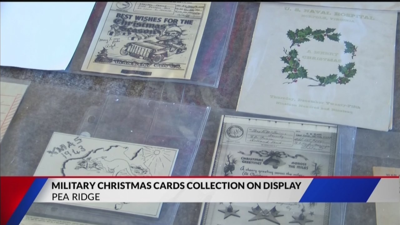 Local Historian Showcases Military Holiday Cards Collection