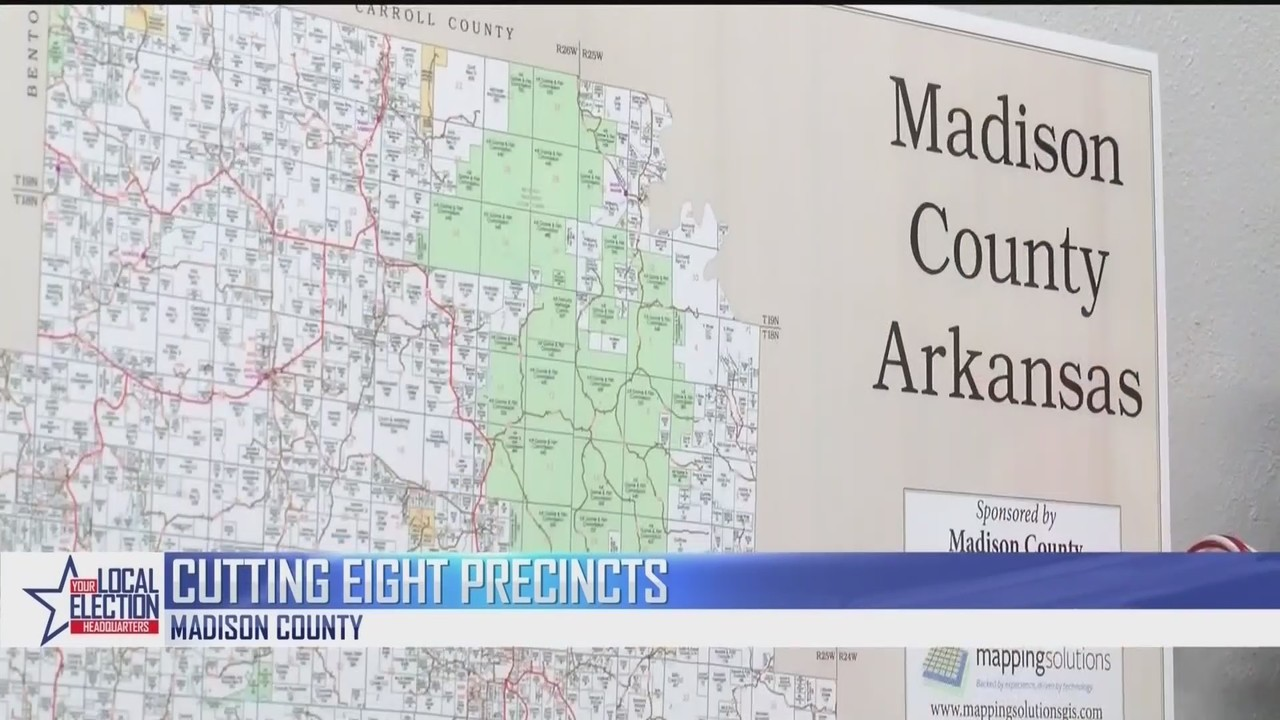 Madison County Looks To Cut Number Of Voting Precincts