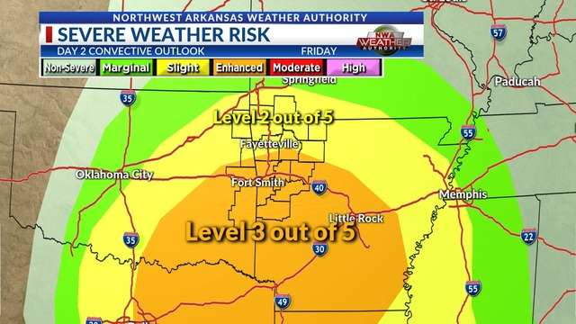 Weather Blog: Severe Weather Potential Increasing for Friday Night