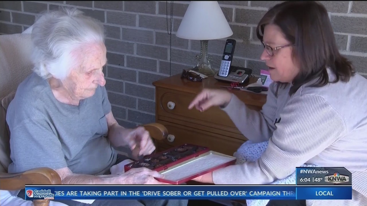 Santa's Helpers Deliver Gifts to Local Seniors