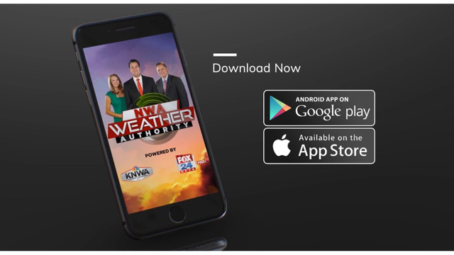 NWA Weather Authority App for iPhone and Android