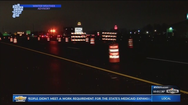 Exit 86 in Bentonville Shuts Down for Three Months