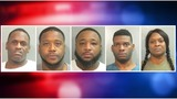 Crack Cocaine, Cocaine, Meth Found During Arrest of Five in Fayetteville