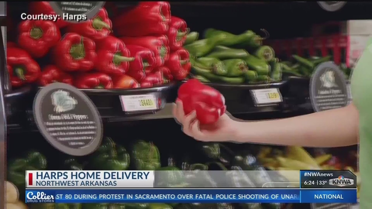 Harps Adds Grocery Delivery Service in NWA KNWA