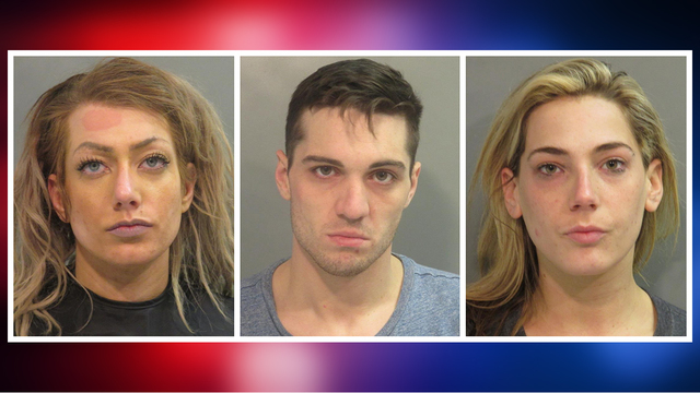 Trio Arrested for Attempted Kidnapping, Robbery