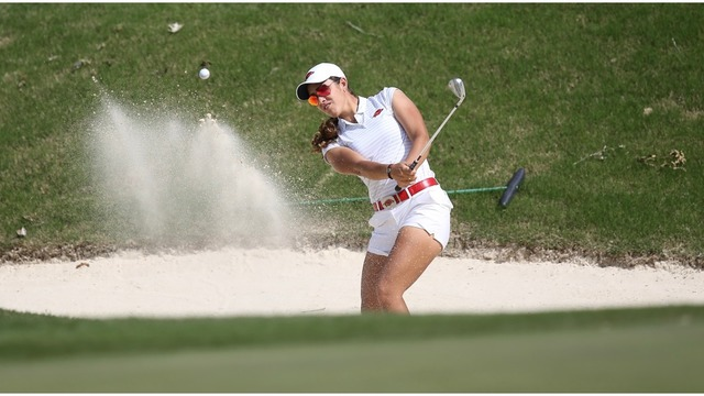 Fassi Paces Arkansas In Round One Of SEC Championships