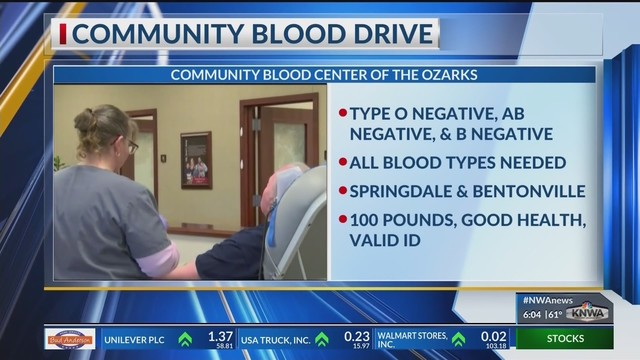 CBCO in Need of All Types of Blood