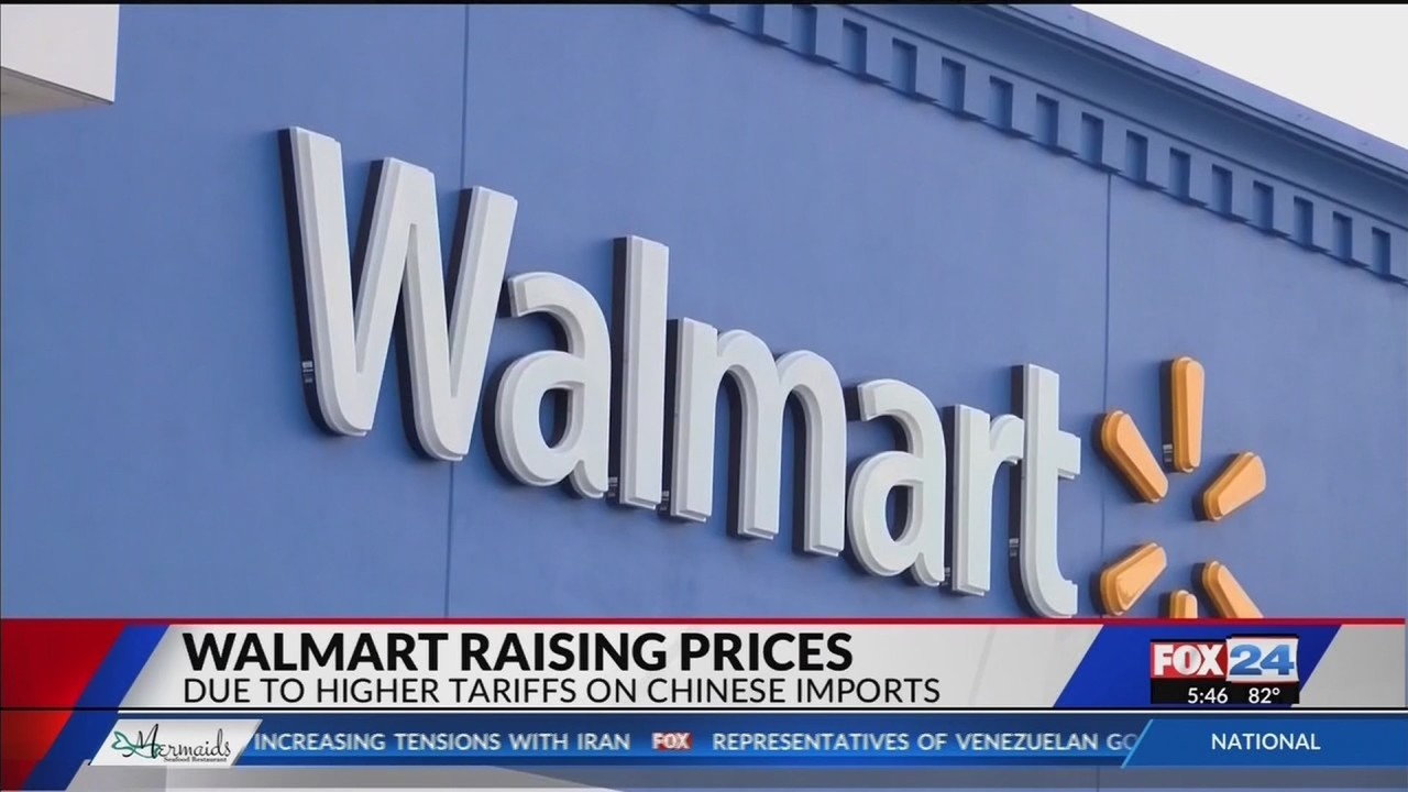 b80ac791f Walmart warns that higher tariffs will mean higher prices (Fox 24)