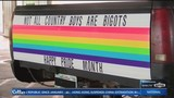 Viral Pride pick-up truck comes to Fayetteville