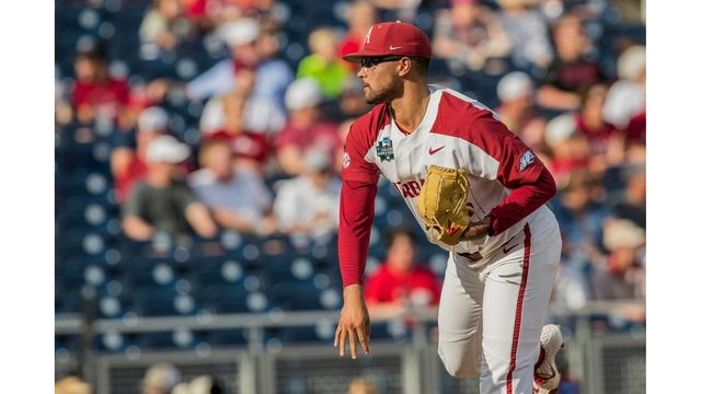 Arkansas Falls in Pitchers' Duel to Florida State