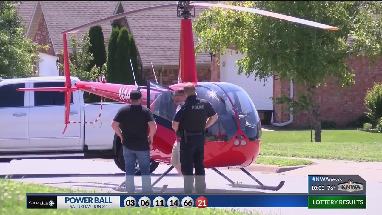 Owner talks about emergency helicopter landing - KNWA
